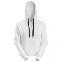 Sweat-shirt à capuche zippé pour femme