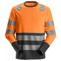 AllroundWork, T-shirt haute visibilité avec longues manches