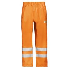 Pantalon de pluie PU haute visibilité, Classe 2