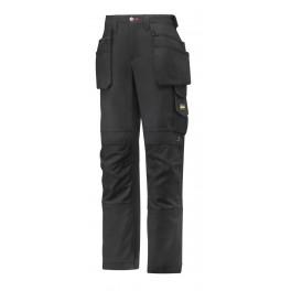 Pantalon femmes avec poches holster, Canvas+