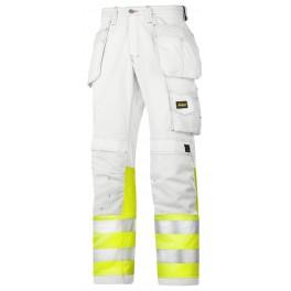 Pantalon de peintre haute visibilité classe 1